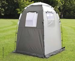 Pop Up Kitchen Tent by Shower Dressing Tent Campalto Light Grey Anthracite 901029