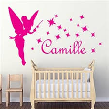 deco fee chambre fille chambre fille deco 5 stickers enfant stickers muraux