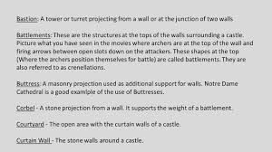 Buttress Wall Design Example Parts Of A Castle Ppt Video Online Download