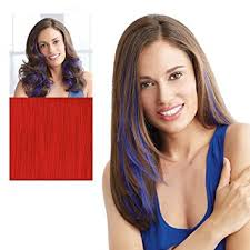 hair u wear hairuwear hh color strips hair extensions beauty