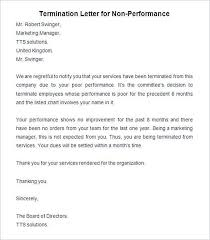 sample service termination letter termination letter sample