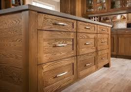 mission oak kitchen cabinets shenandoah cabinetry island in oak tawny mission door kitchen