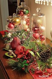 Centerpiece Ideas For Dining Room Table 50 Stunning Christmas Table Settings Table Decorations
