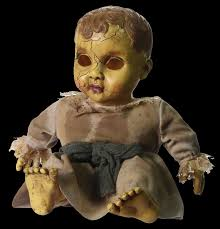 halloween baby face mask creepy horror baby doll face mask halloween costume accessory