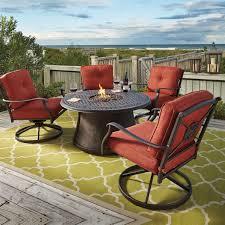 signature design by burnella 5 piece outdoor pit set