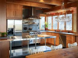 kitchen fresh stainless steel table kitchen decor color ideas