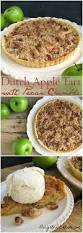 easy thanksgiving desert dutch apple tart with pecan crumble delightful e made