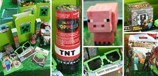 minecraft party favors minecraft party ideas