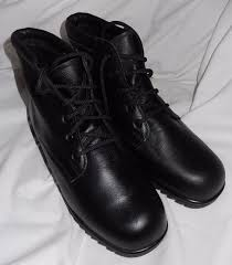 martino of canada s boots florsheim ankle pull up boots mens size 9 5 d black leather