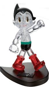 character 3d crystal puzzle astro boy play learn 40 pieces