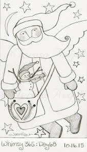 233 best santa u0027s drawing painting images on pinterest