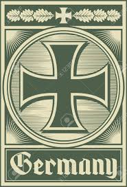 germany poster iron cross royalty free cliparts vectors and