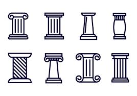 greek column free vector art 530 free downloads
