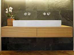 waschtisch design waschtisch aus holz mit zwei drawer inklusive keramik waschbecken