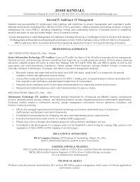 internal audit resume resume for your job application