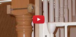 Install Banister Baby Gate Reviews Stairway Banister Installation Kit How To U0027s