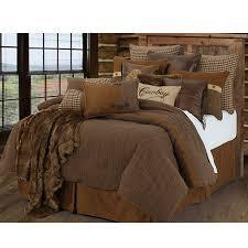 Houndstooth Comforter Crestwood Western Bedding