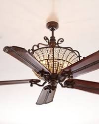 Kitchen Ceiling Fan With Light by This Kind Of Dark Fan With Chandelier Lights Is What I Want