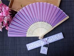 personalized wedding fans online shop free shipping 100pcs personalized silk wedding