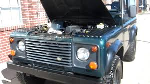 land rover defender convertible 1997 land rover defender 90 convertible both tops for sale youtube