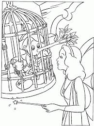 free printable pinocchio coloring pages kids