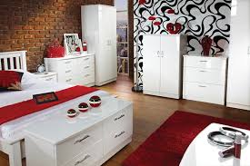 bedroom furniture white gloss decoraci on interior