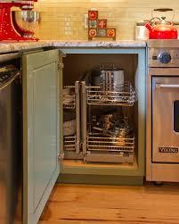 Corner Kitchen Storage Cabinet Chic Corner Kitchen Storage Solutions Best 25 Kitchen Corner