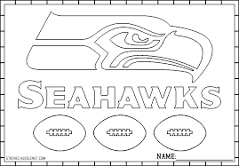 nfl football helmet coloring pages seattle seahawks seahawks coloring page sports pinterest