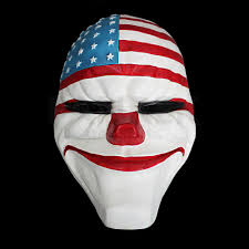 game payday 2 the heist dallas mask cosplay props halloween mask
