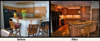 kitchen remodel ideas before and after before and after remodel michigan home design