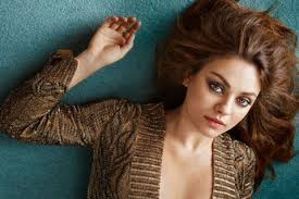 birthing hairstyles mila kunis interview about ashton kutcher and giving birth