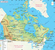canadian map cities canada map and canada satellite images