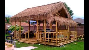 bamboo house idea simple bamboo house design youtube