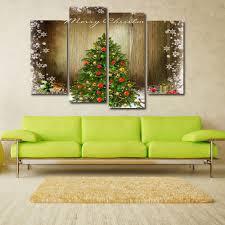 brown 30 60cm 2pcs 30 80cm 2pcs christmas tree print unframed