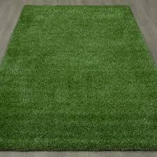 Grass Area Rug Ottomanson Garden Grass Green Indoor Outdoor Area Rug Reviews