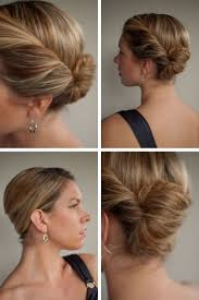 Elegant Chignon Hairstyle by The 25 Best French Roll Hairstyle Ideas On Pinterest French