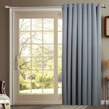 Interiors Sliding Glass Door Curtains by Cool Curtain Rod For Sliding Patio Doors Specail Door One Way