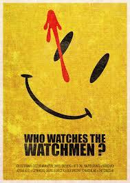 the watchmen super minimalist series art print minimalist