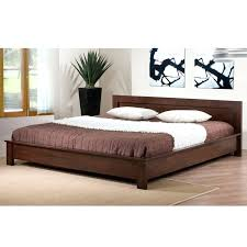 headboard low headboard platform bed japanese style bed design