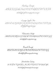 wedding invitations font wedding invitation font choices