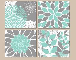 Aqua Colored Bathroom Accessories by Art For Bathroom Decor Turquoise Wall Wall Decoryou Never Know
