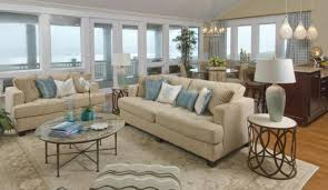 living room stunning elegant coastal open space living room