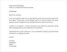awesome thank you letter after interview sample how to format a