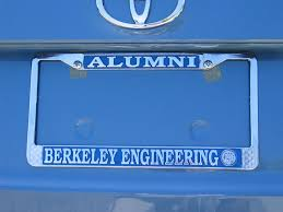 uc berkeley alumni license plate like disneyland every day august 2007 archives