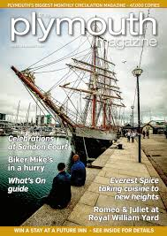 plymouth magazine august 2016 by cornerstone vision issuu