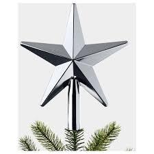 vinter 2017 tree topper star ikea