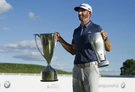 bmw tournament dustin johnson wins bmw chionship toronto