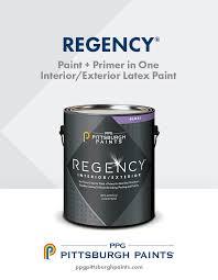 Exterior Paint And Primer - regency interior exterior paint u0026 primer in one