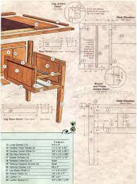 arts and crafts floor plans arts and crafts desk plans u2022 woodarchivist