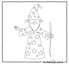 wizard magic wand coloring page with coloring page creativemove me